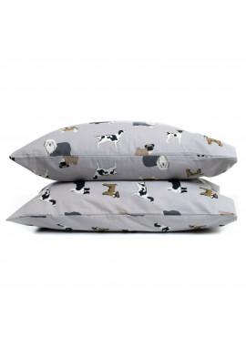 2'li 50x70 Hayvan Desenli Pazen Yastık Kılıfı