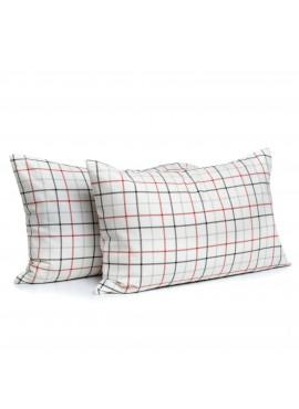 2'li 50x70 Soft Çizgili Pazen Yastık Kılıfı