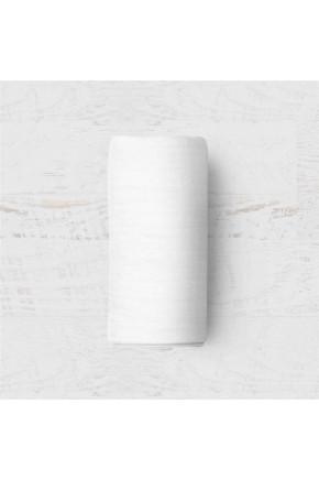 Çift Kişilik Lastiksiz Beyaz Çarşaf Takımı - 240x260