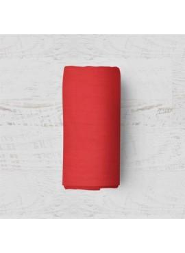 Çift Kişilik Lastikli Kırmızı Nevresim Takımı-200x220