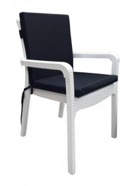 Siyah Sandalye Minderi (Arkalıklı)