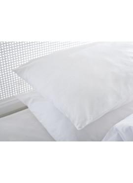 2'li 50x70 Renforce Beyaz Fermuarlı Yastık Kılıfı
