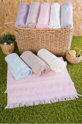 %100 Cotton 50x90 Çok Renkli 4`lü Havlu Seti