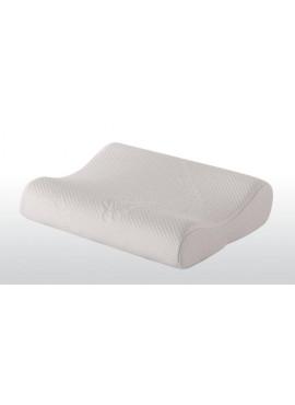 Kapitone Kılıflı Visco Boyun Destekli Yastık 40*60 cm Beyaz